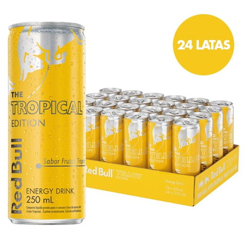 Red Bull Tropical Edition - 24 Latas