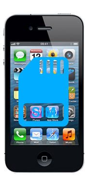 Apple iPhone 4 Sim Reader Repair