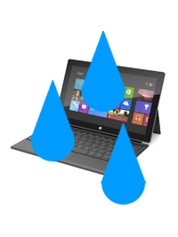 Microsoft Surface Pro Liquid Damage Repair