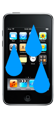 Apple iPod Touch 3rd Gen Liquid Damage Repair