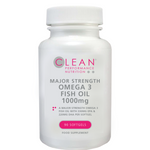 Major Strength Omega 3 Fish Oil 1000mg