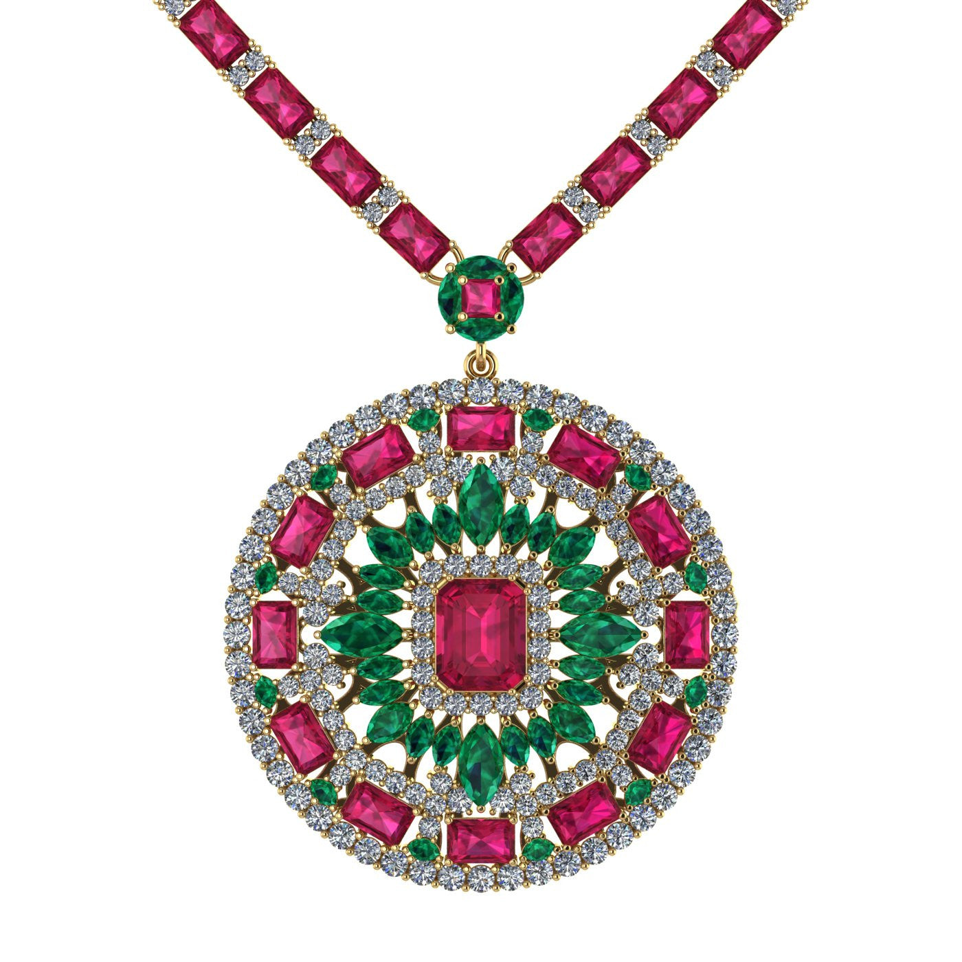 indian royal set emerald gold jewelry jadau pearl jewellery ruby pendant
