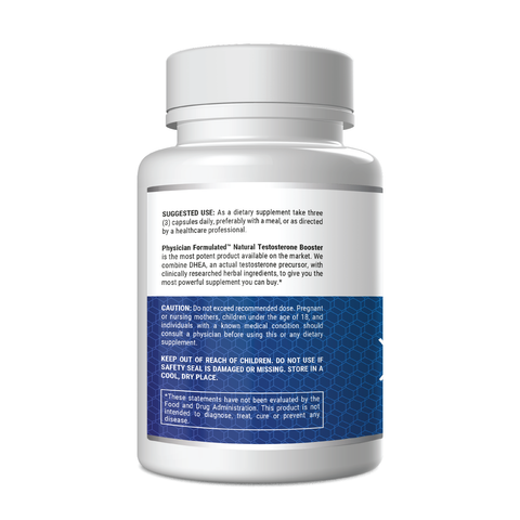 Natural Testosterone Booster with DHEA
