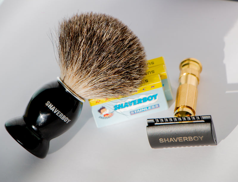 THE SHAVERBOY ULTIMATE SHAVING KIT