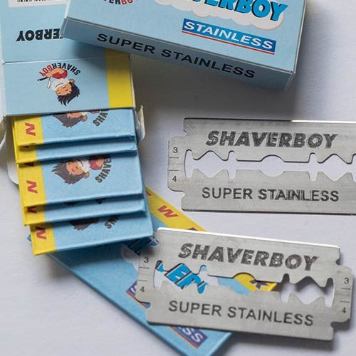 THE BARBERSHOP SPECIAL - 1000 SHAVERBOY BLADES