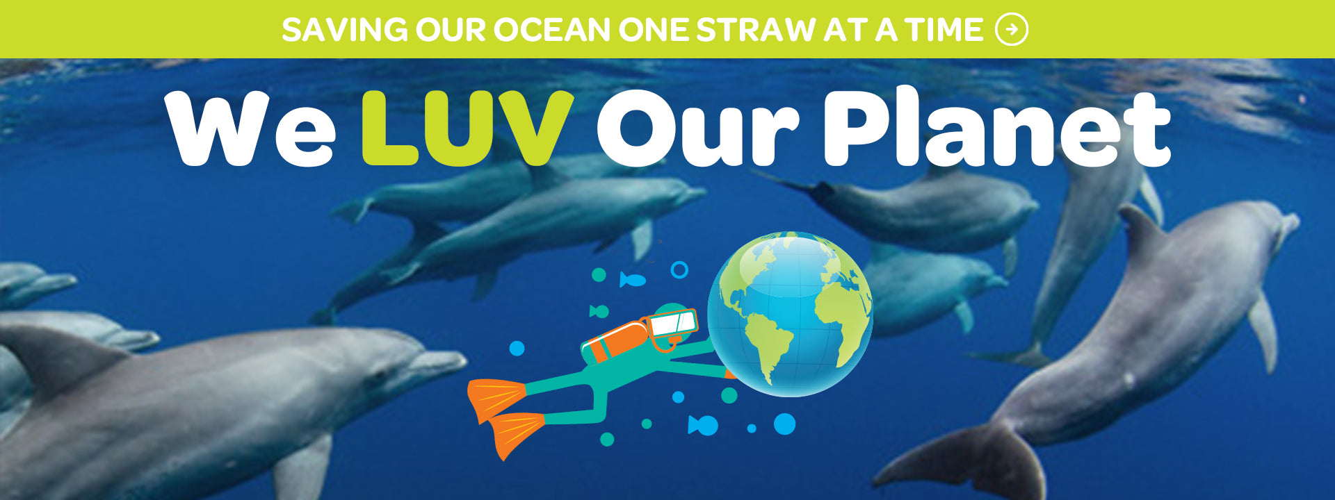 Saving our ocean one straw at a time