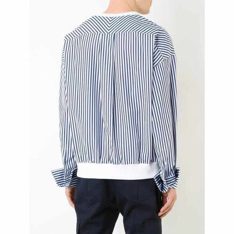 """Covered"" Striped Shirt"