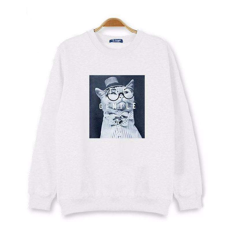 """The Gentle and Lovely Cat"" Sweatshirts"