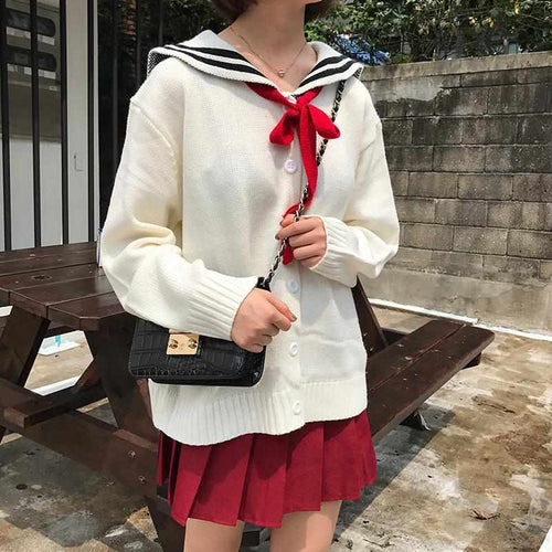 """Kawaii Bow"" Cardigan"