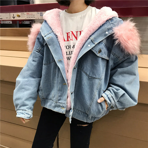 """Gentle Lamb"" Jean Jacket"