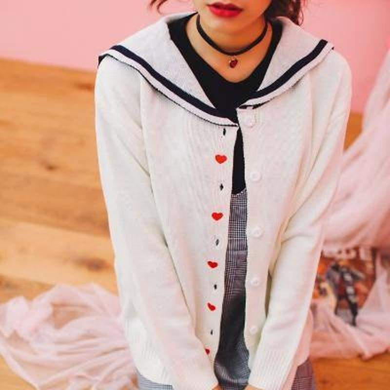 """All The Love"" Cardigan - Kawaii Nation"
