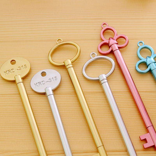"""Kawaii Keys 4pc Set"" Pens"