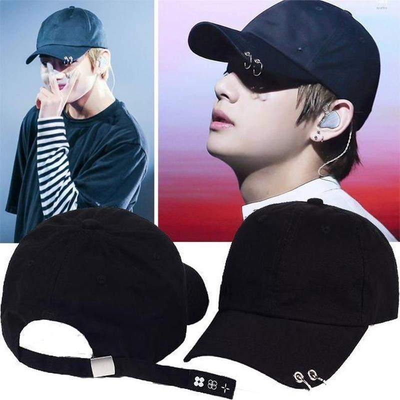 """BTS x The Wings Pierced"" Cap - Kawaii Nation"