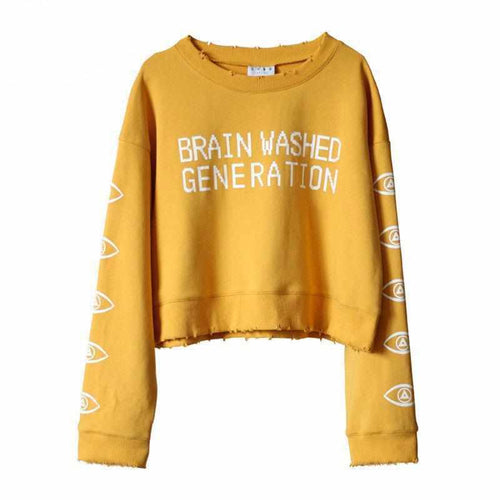 """Brain Washed Generation"" Sweater"