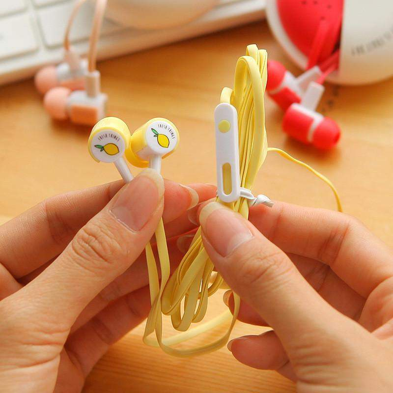 """Fruity"" Earphones"