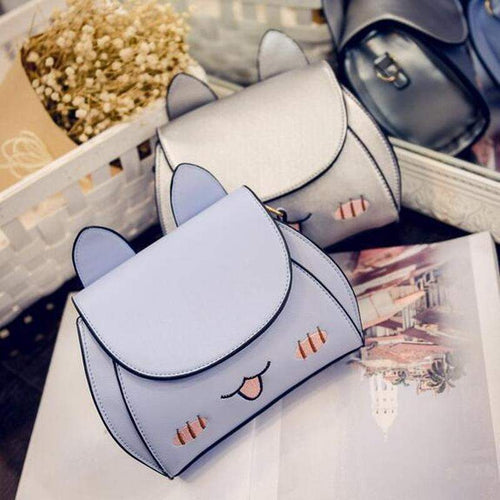 """Cheeky Kitty"" Side Bag - Kawaii Nation"