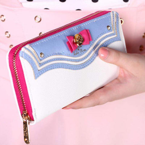 """Sailor Girl"" Long Wallet - Kawaii Nation"