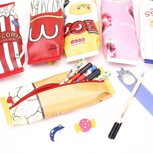 """Fast Food"" Pencil Cases"