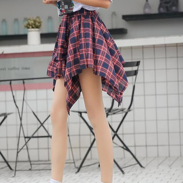 """Asymmetrical Tie Around"" Skirt"