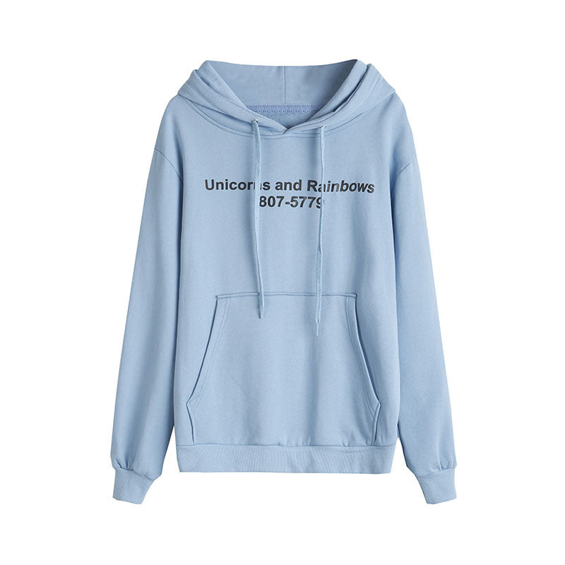 """Unicorns and Rainbows"" Hoodie"