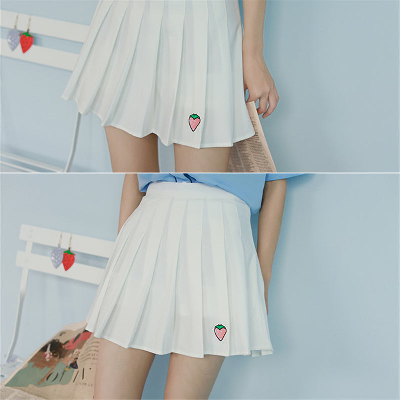 """Fruit Embroidery"" Skirt"