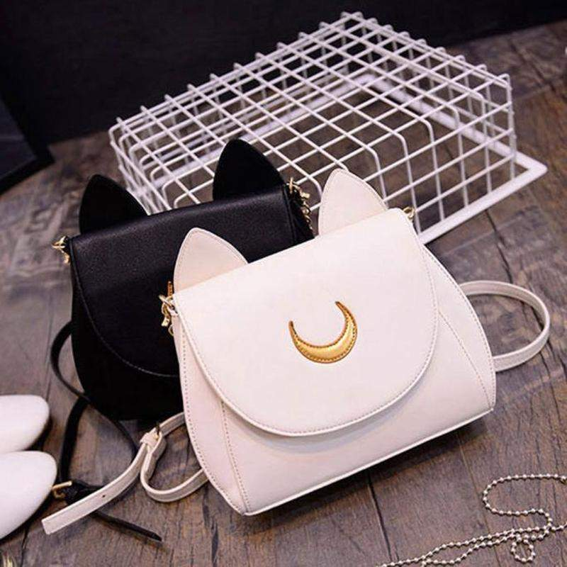 """Crescent Moon"" Side Bag - Kawaii Nation"