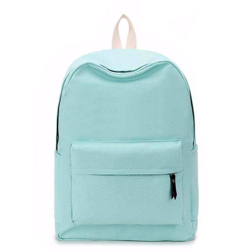 """Lemon Candy"" Canvas Backpack"