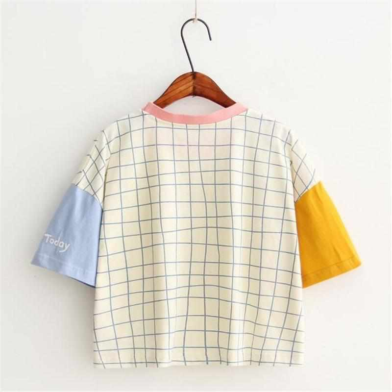 """Crayon Grid"" T-Shirt - Kawaii Nation"
