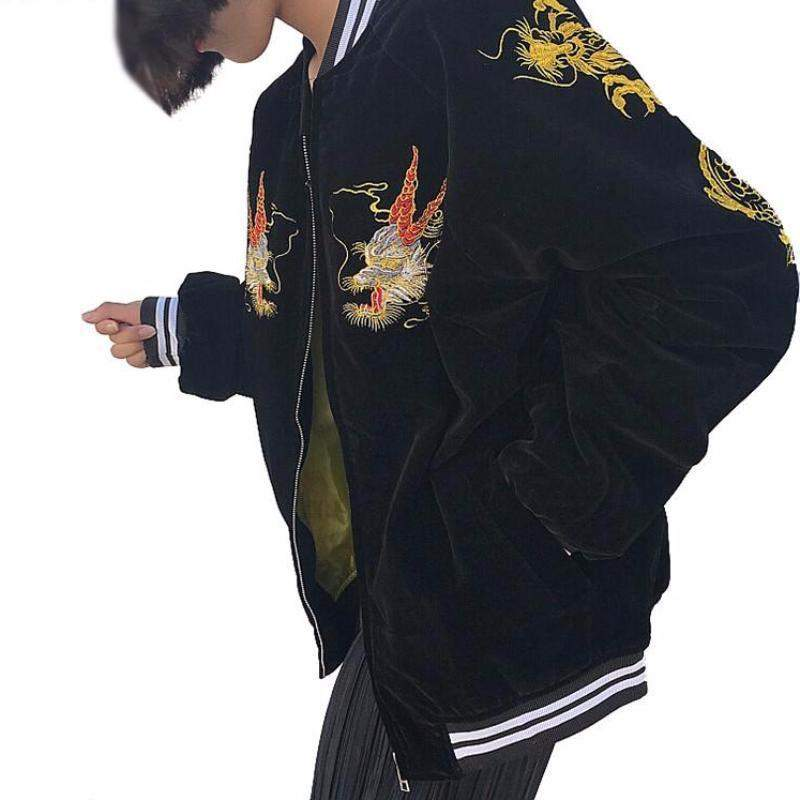 """Japan Dragon"" Bomber Jacket"