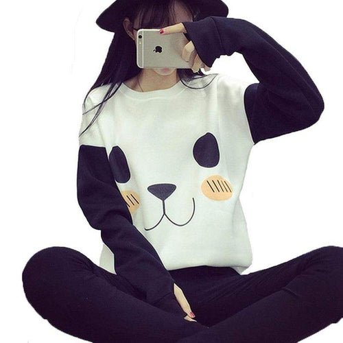 """Kawaii Panda"" Sweater"