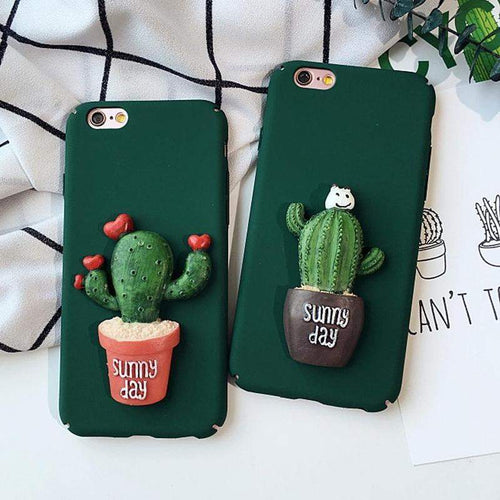 """Cactus Ornament"" Phone Case - Kawaii Nation"