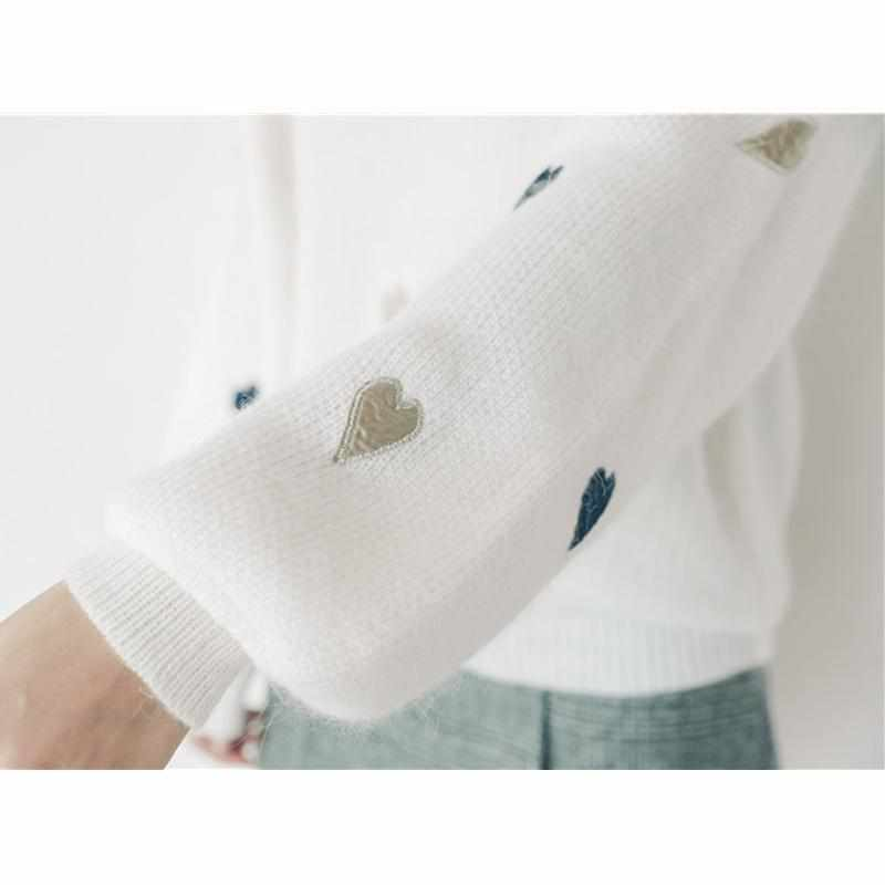 """Love Me"" Cashmere Sweater"
