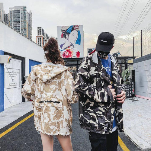 """Painted Camo"" Jacket"