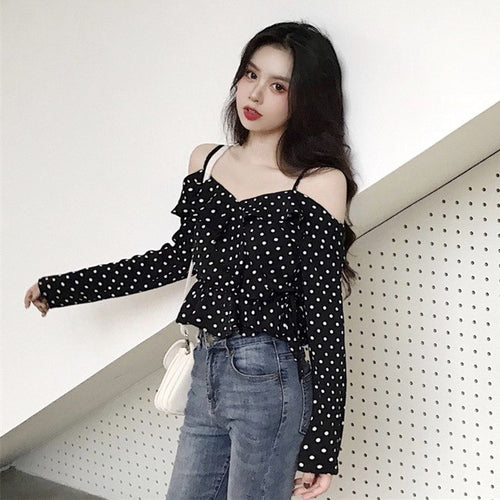 """Polka Dotty"" Top"