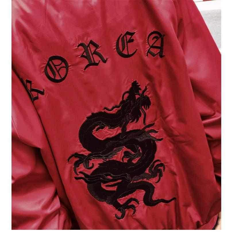 """Korean Dream"" Bomber Jacket"