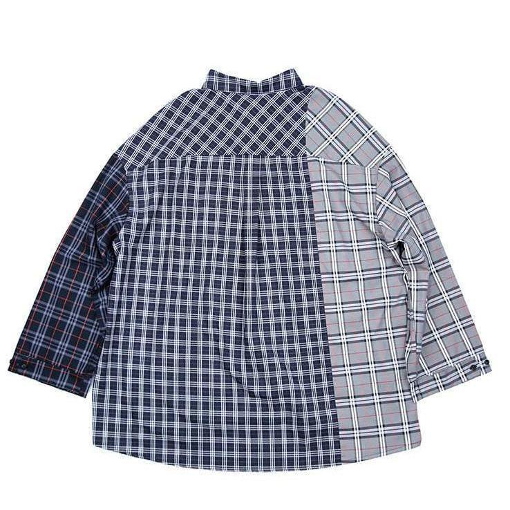 """Oversized Checkered"" Shirt"