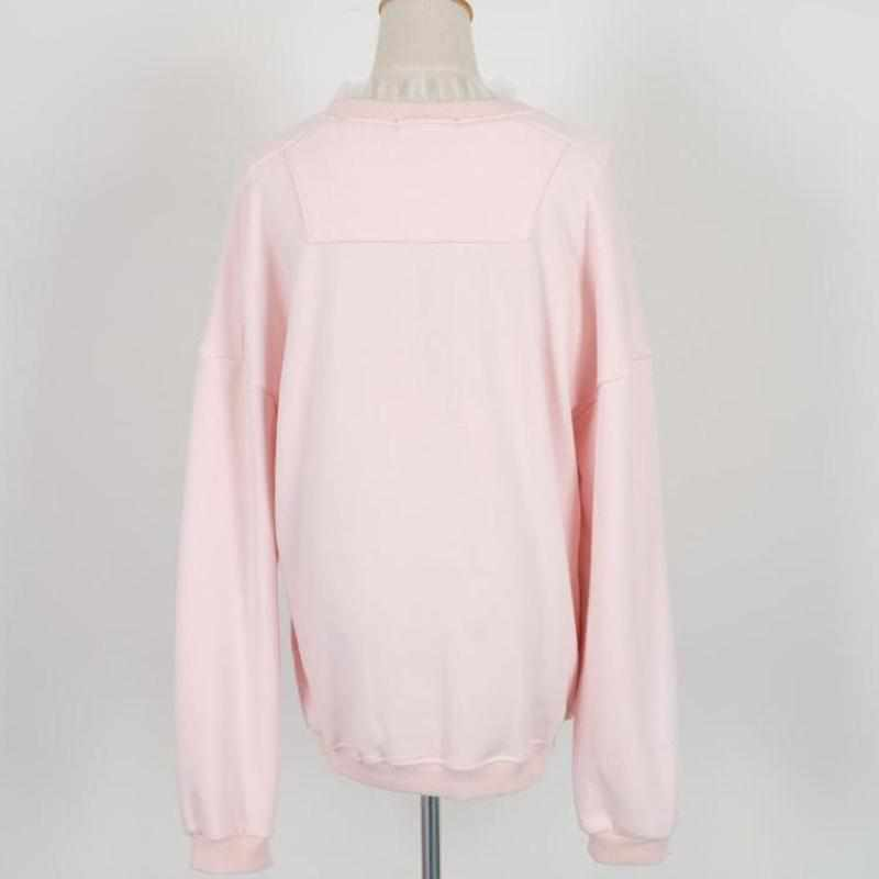 """Bubble Gum"" Layered Sweater - Kawaii Nation"