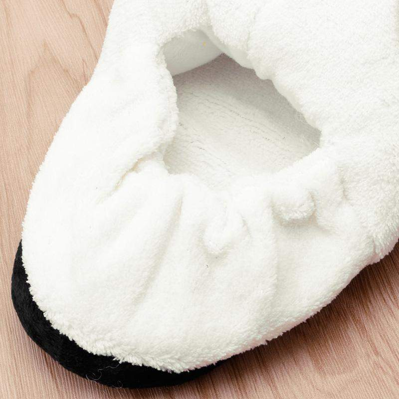 """Blushing Panda"" Slippers - Kawaii Nation"