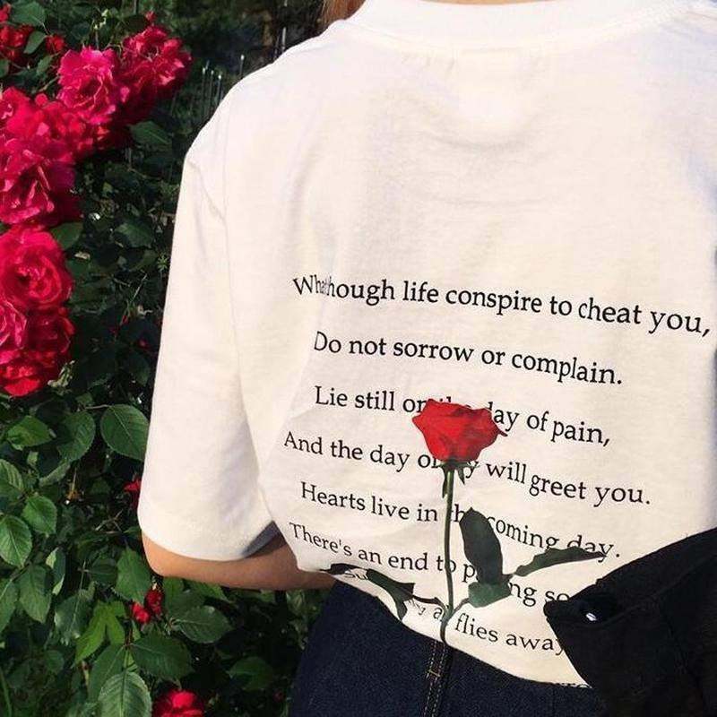 """Rosey Poetry"" T-Shirt"
