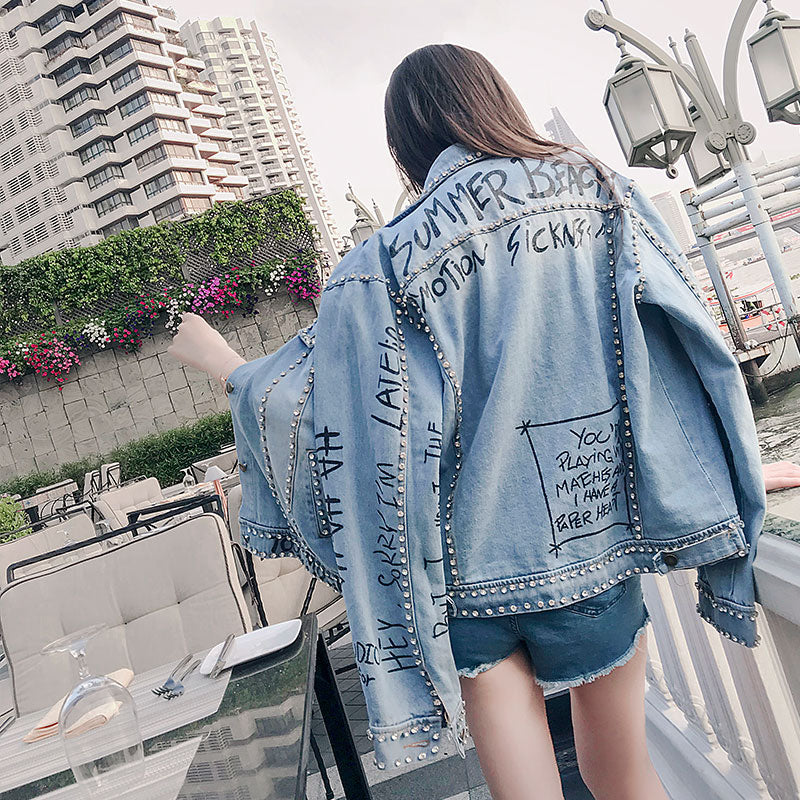 """Stud"" Denim Jacket"