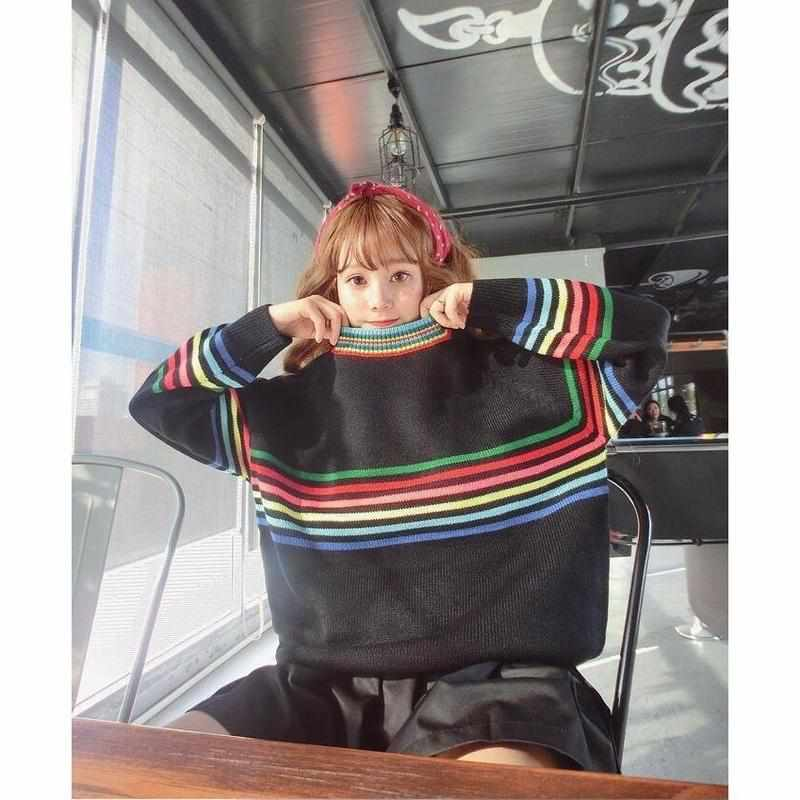 """Candy Stripes"" Sweater - Kawaii Nation"