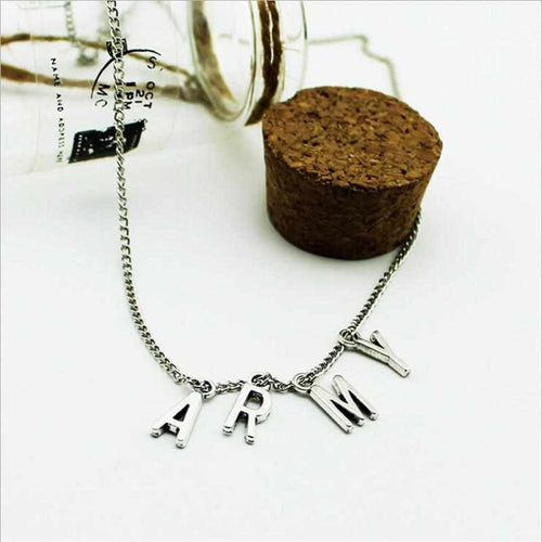 """ARMY"" Necklace"