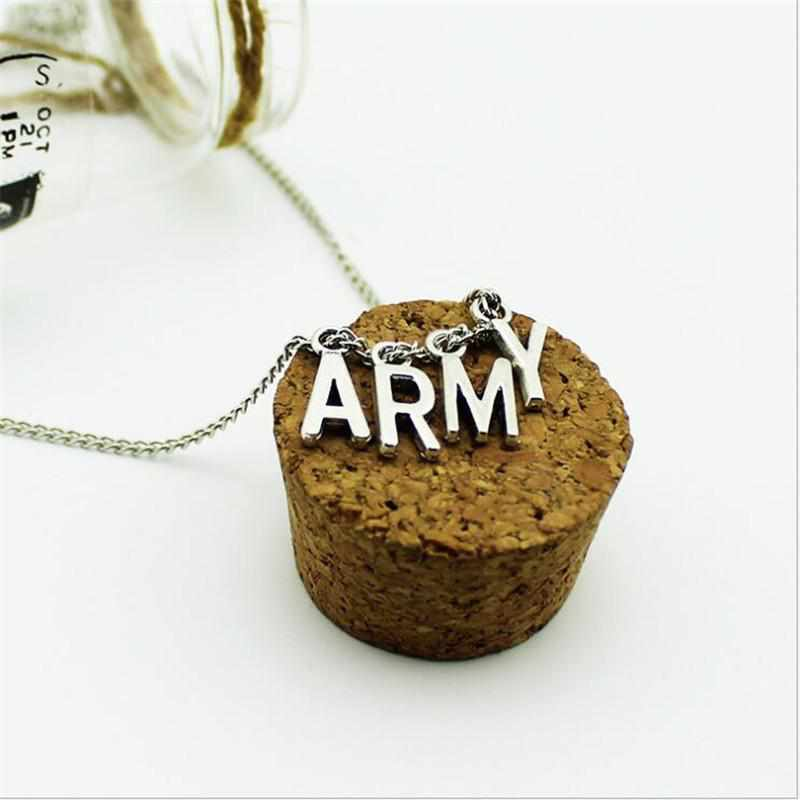 """ARMY"" Necklace - Kawaii Nation"