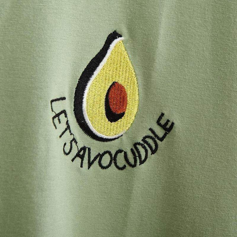 """Let's Avocuddle"" T-Shirt"