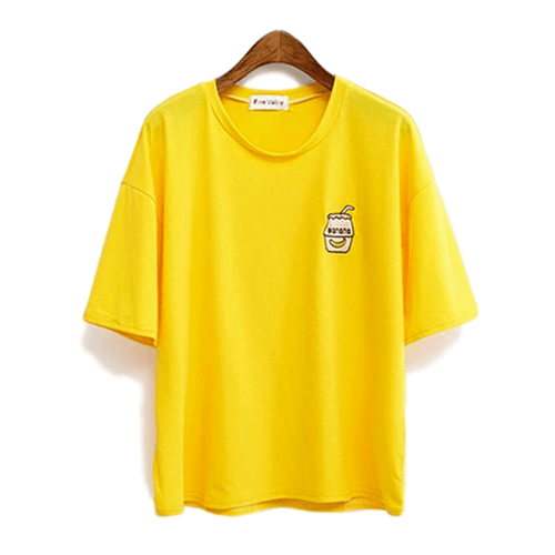 """Oversized Banana Milk"" T-Shirt"
