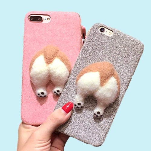 """Corgi Bum Bum"" iPhone Case"