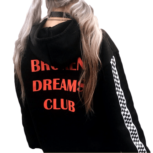 """Broken Dreams Club"" Hoodie - Kawaii Nation"