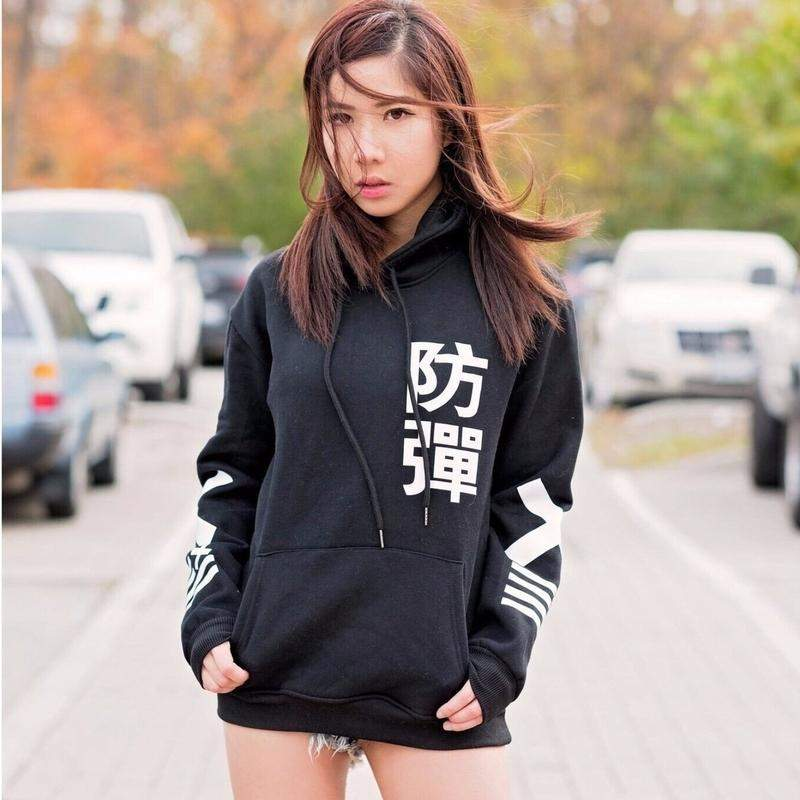 """Bulletproof"" Hoodie - Kawaii Nation"