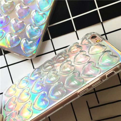 """HOLOGRAPHIC LOVE"" CASES"