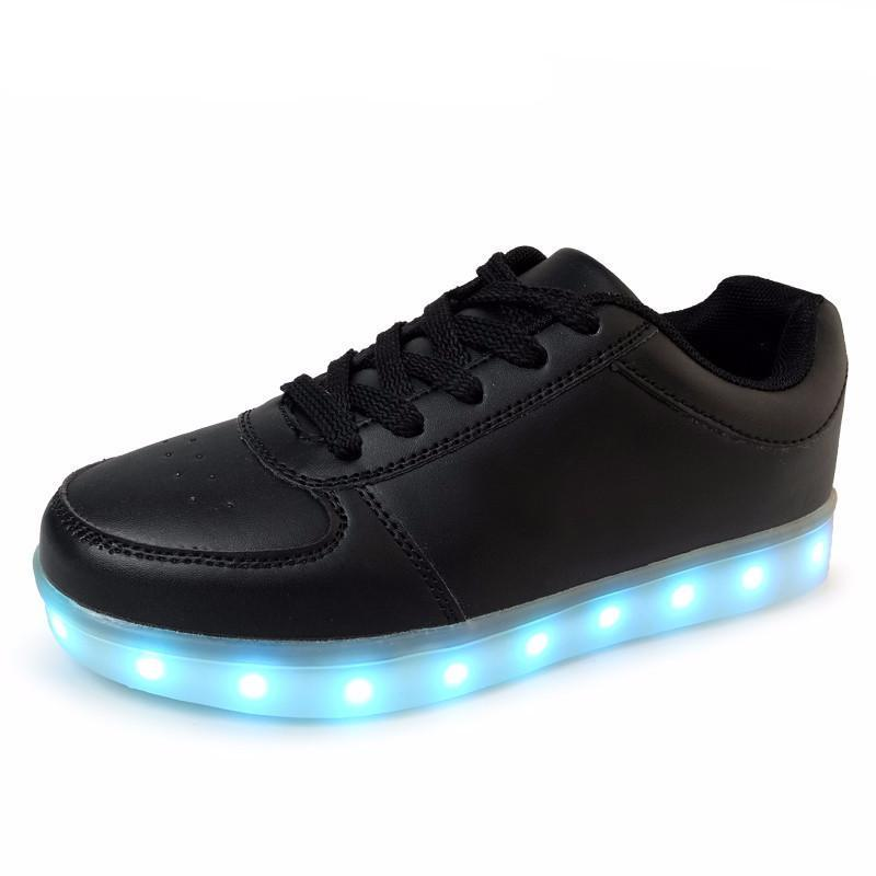 """BLACK"" LIGHT-UP SHOES"